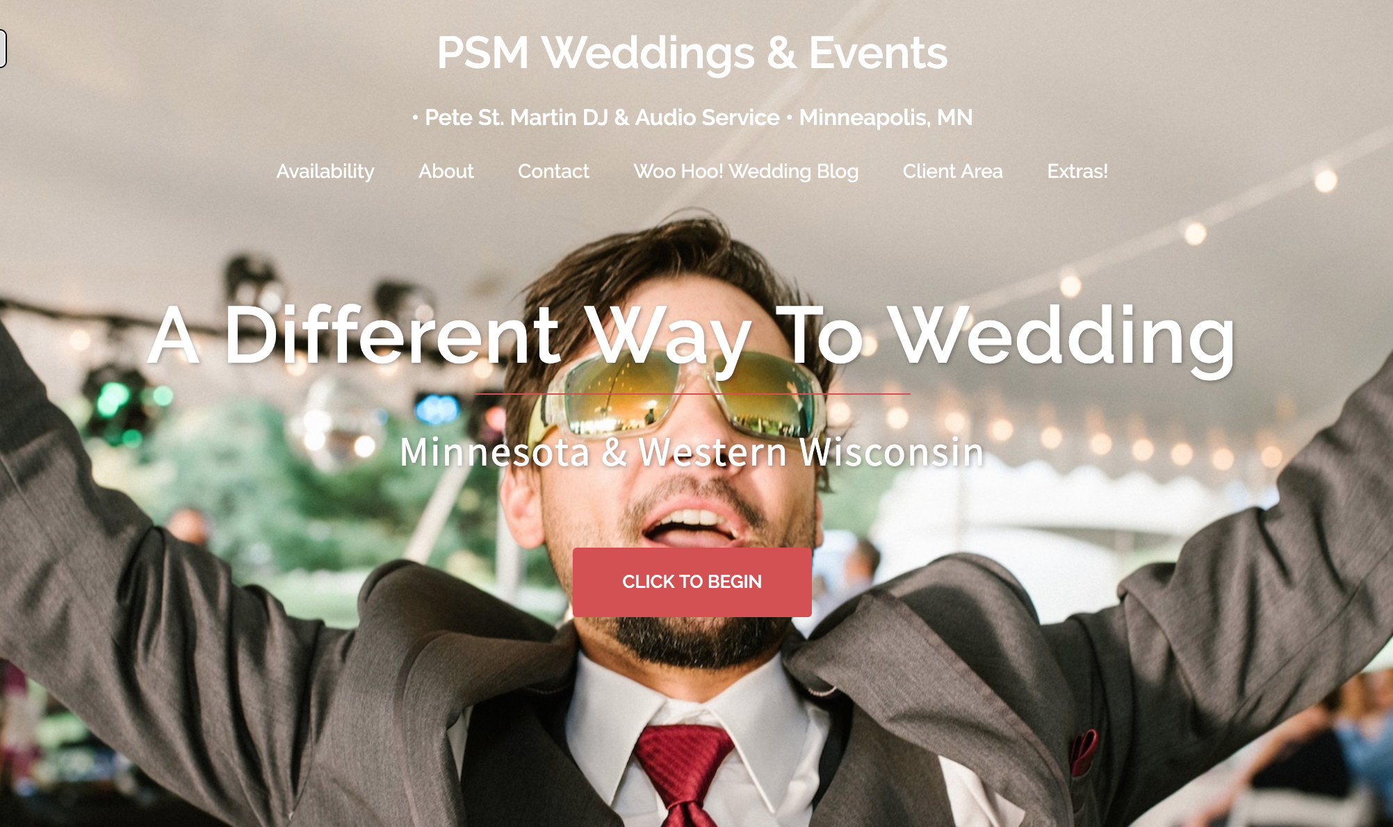 Pete St. Martin Weddings & Events Home Page